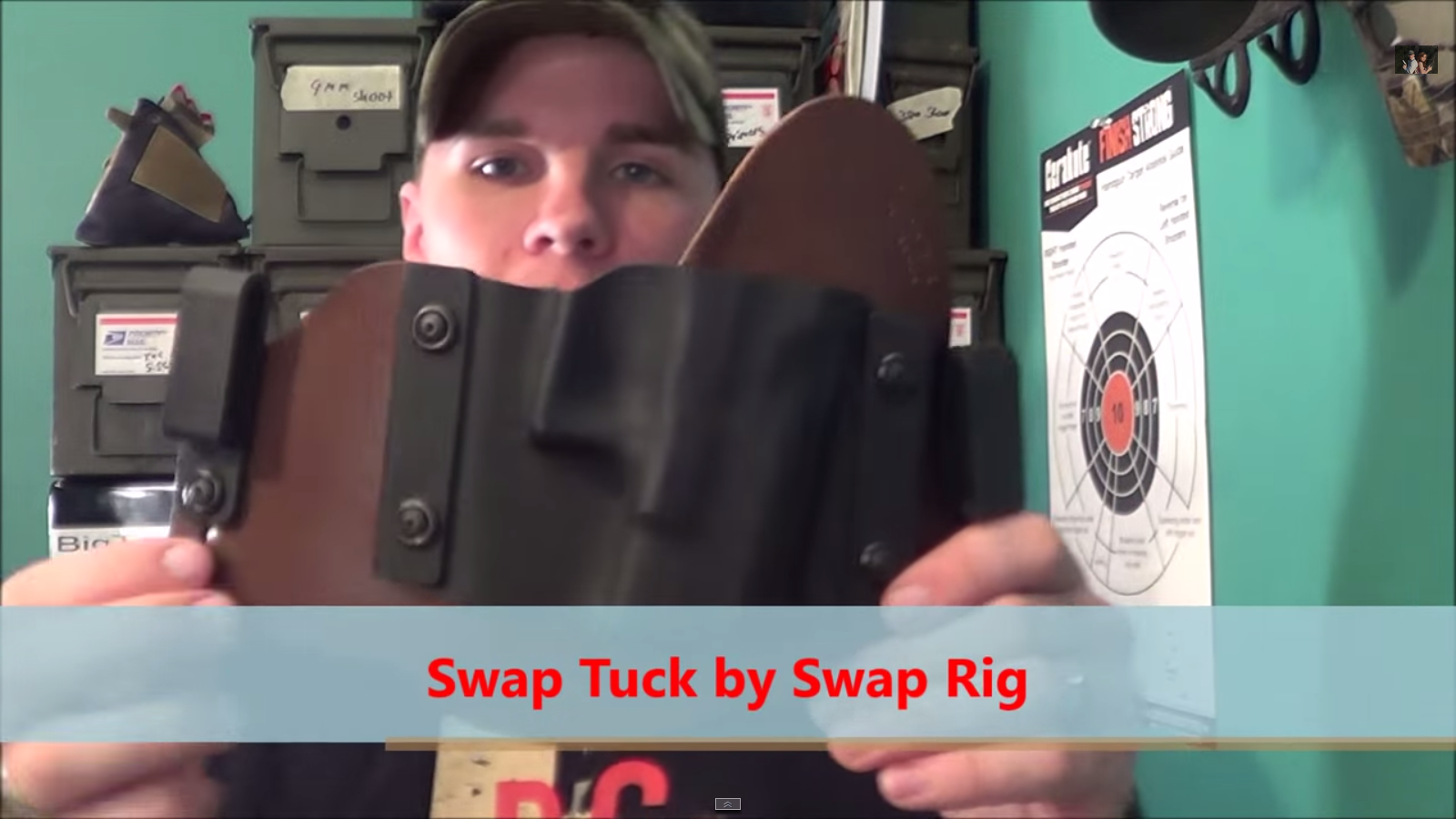 Review of SwapRig Holsters SwapTuck from Big Tex Outdoors