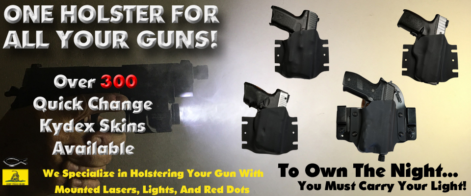 SwapRig IWB and OWB hybrid holsters
