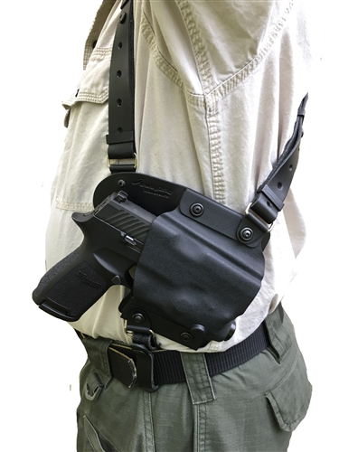 The Flanker Shoulder Holster Is Designed To Provide A