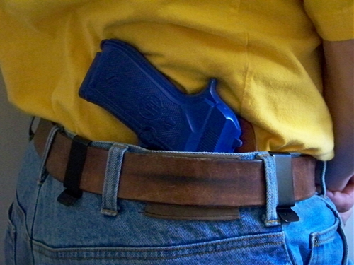 The Revolution Iwb Amp Owb Hybrid Kydex Leather Belt Holster